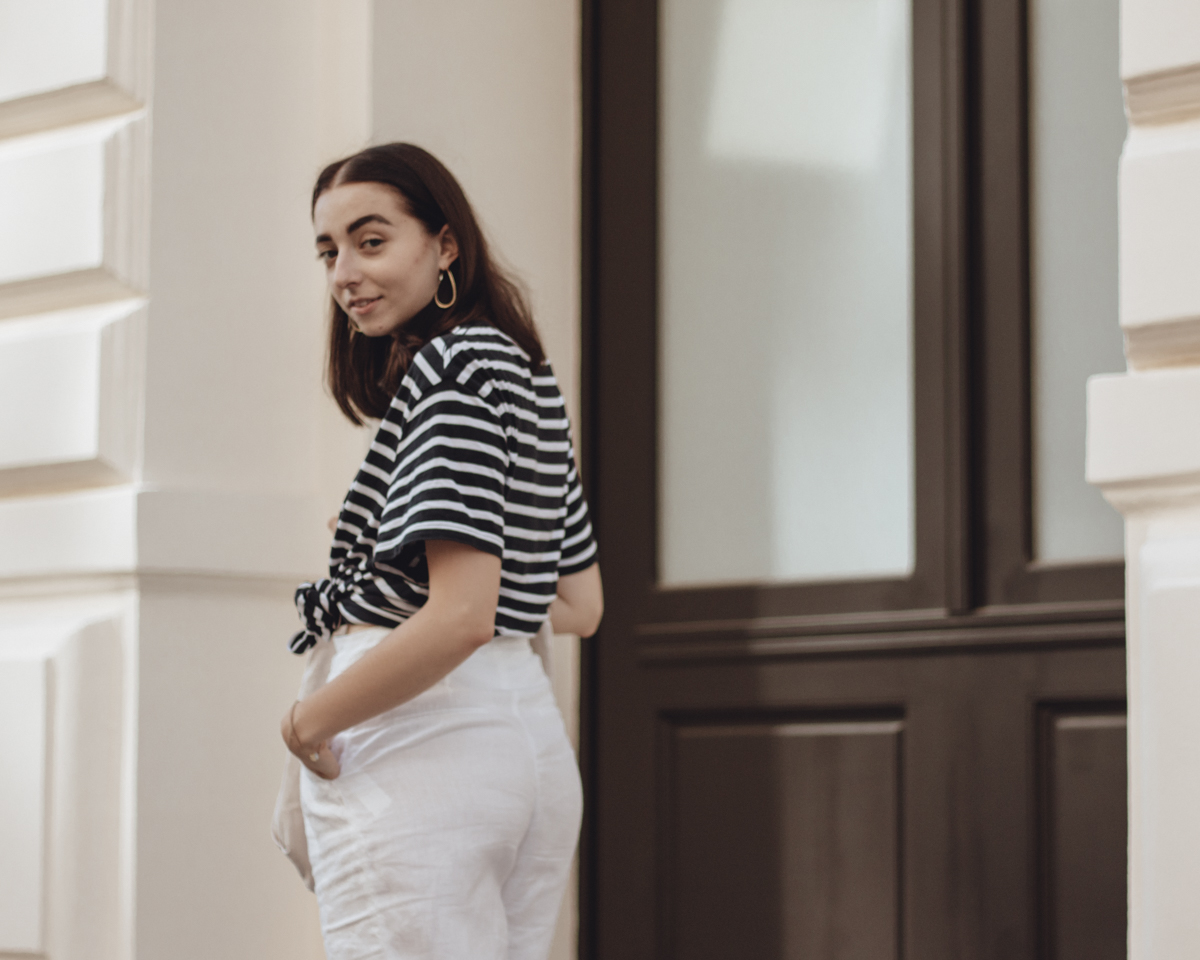 Outfit: Stripes & Linen