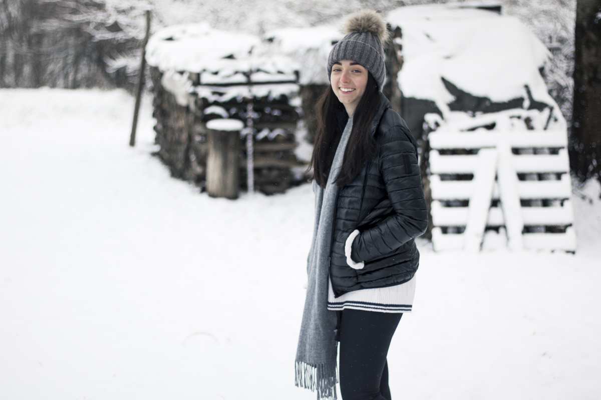 Outfit: It's snowing!