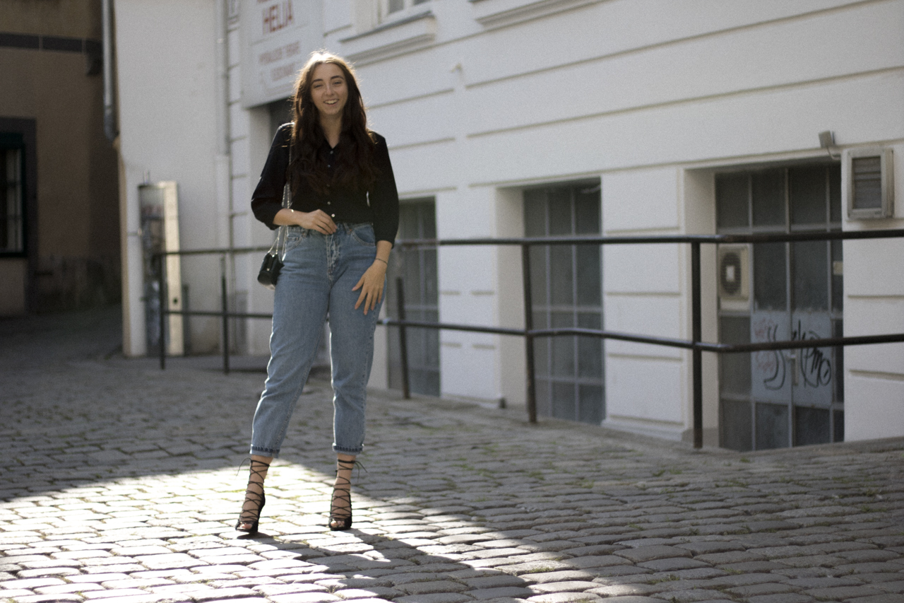 Outfit: Jeans Upstyling